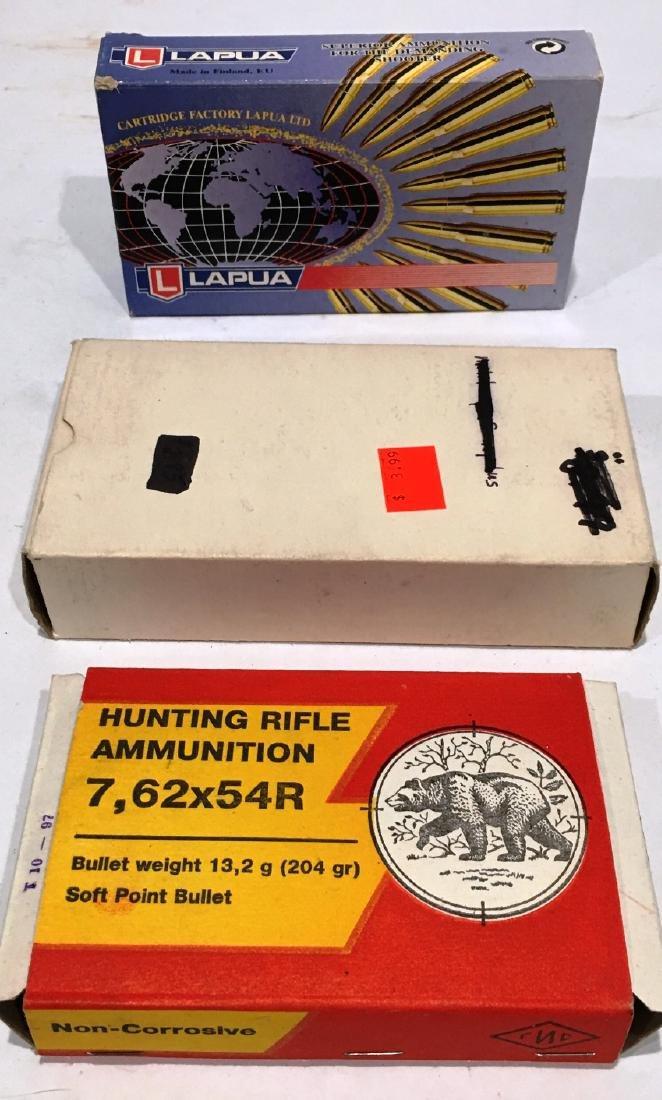 3 BOXES 7.62 X 54R