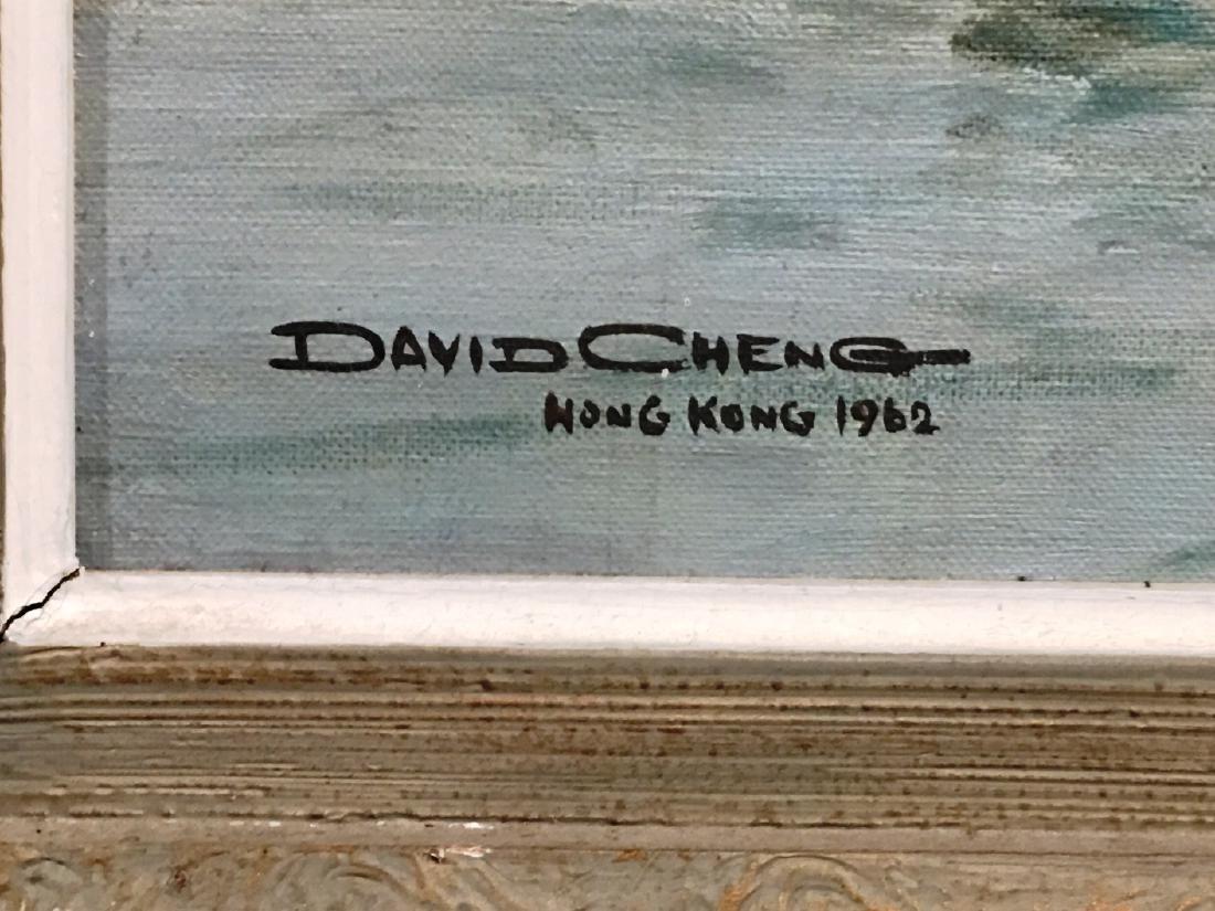 HARBOR BOAT SCENE BY DAVID CHENG - 2