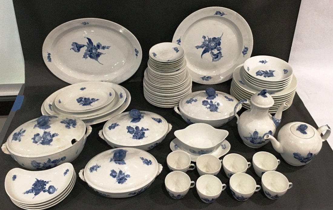 Royal Copenhagen Denmark 66 pieces