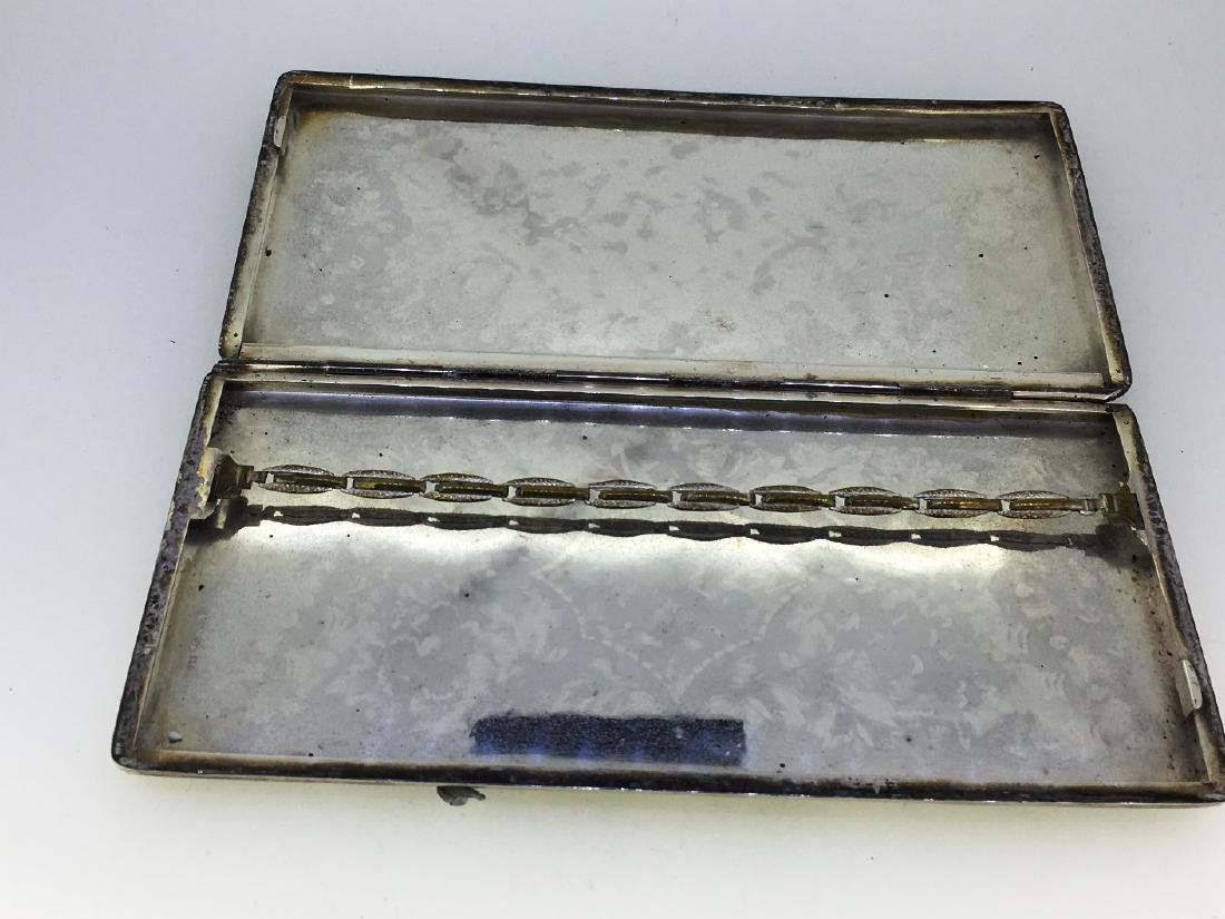 STERLING CIGARETTE CASE, 212g - 3