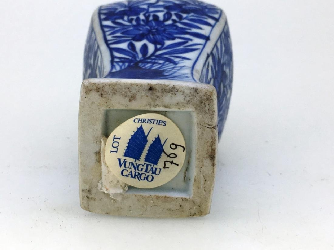 BLUE AND WHITE VUNG TAU CARGO VASE - 4