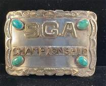 RARE Chief Sunny Skies S.G.A. Belt Buckle