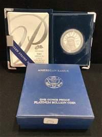 2005 $100 Platinum Eagle Proof Deep Cameo Coin