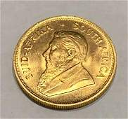 South Africa Gold Krugerrand 1 Ounce 1980