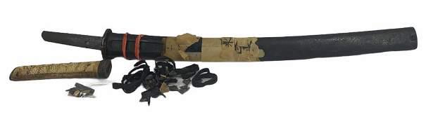 Antique 15th Century Japanese Wakizashi Sword