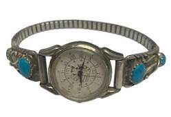Turquoise Navajo Style Watch