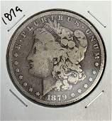 1879 Morgan Silver Dollar Coin