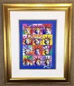 Liberty and Justice For All II by Peter Max