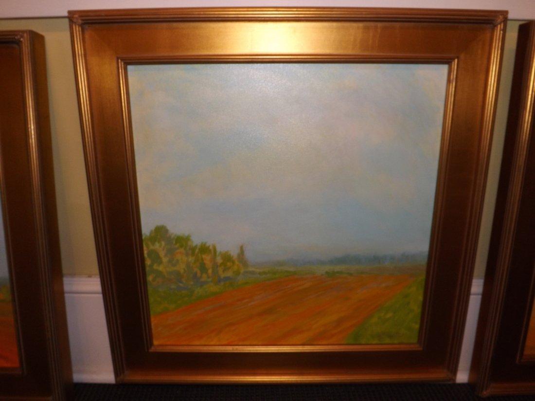 8: Oil on canvas