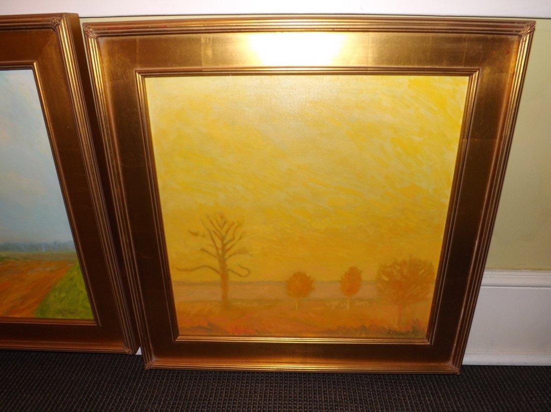 9: Oil on canvas