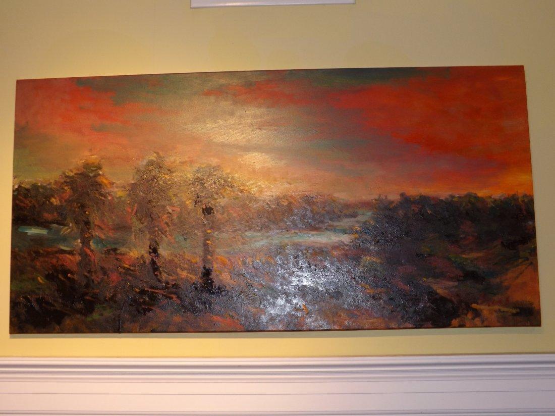 24: Oil on canvas