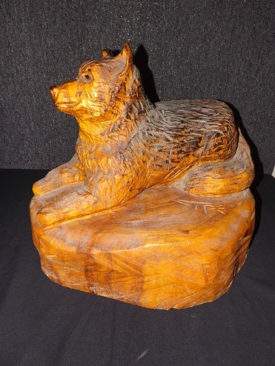 1: Carved Animal