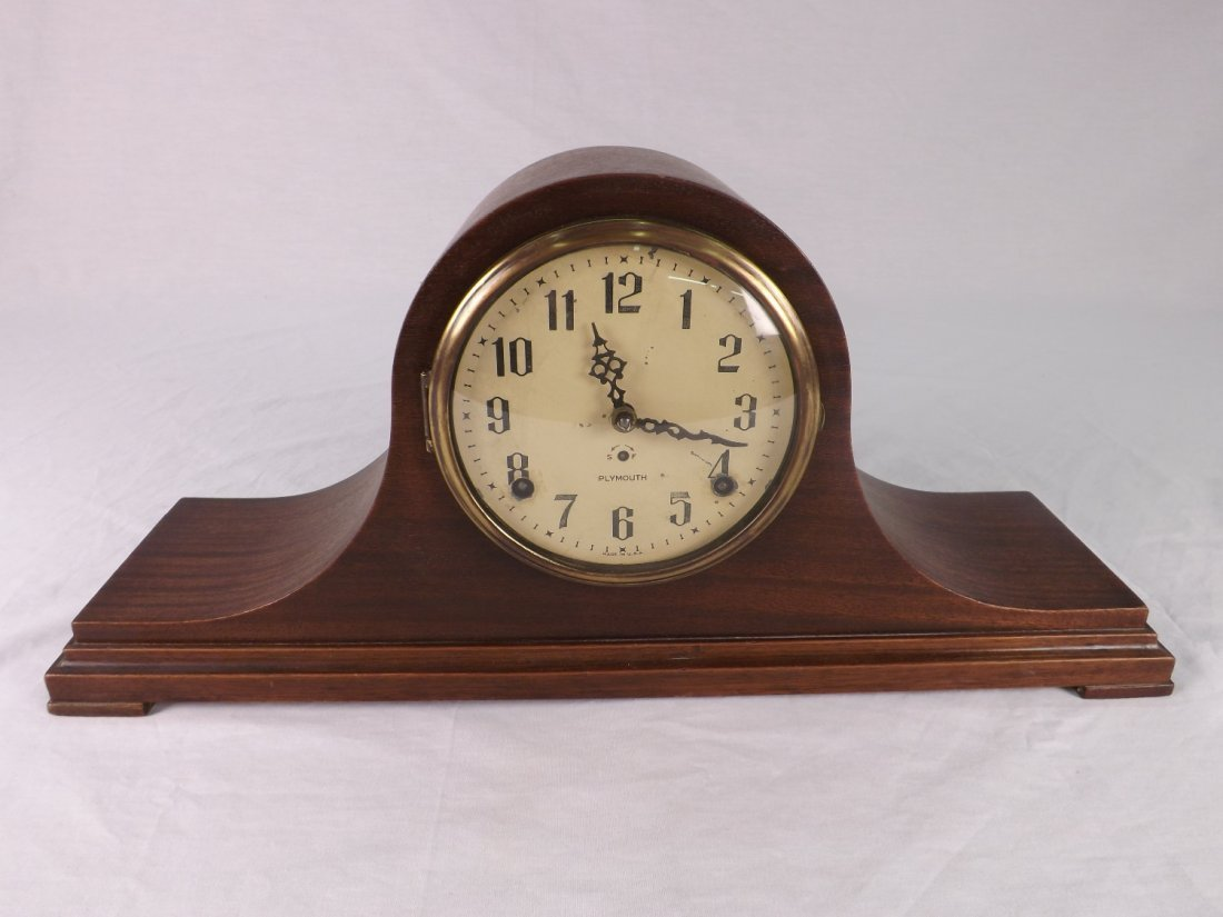 1: Plymouth Mantle Clock