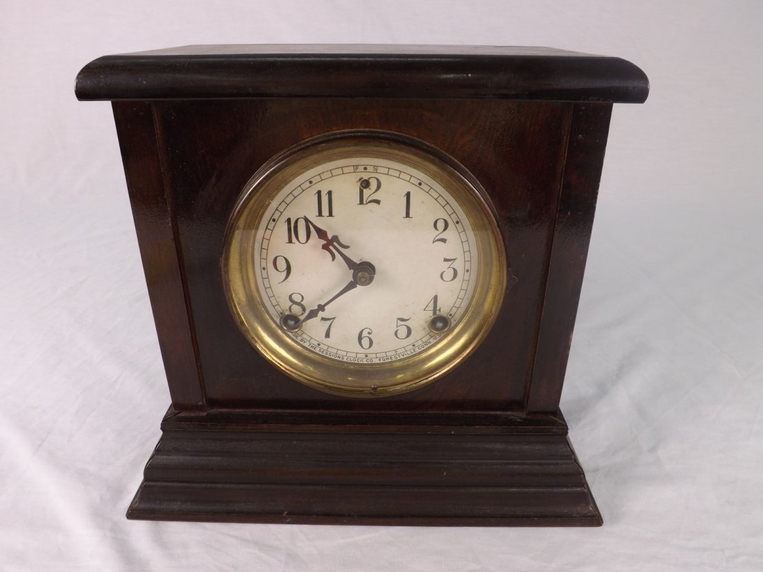 3: Sessions Mantle Clock