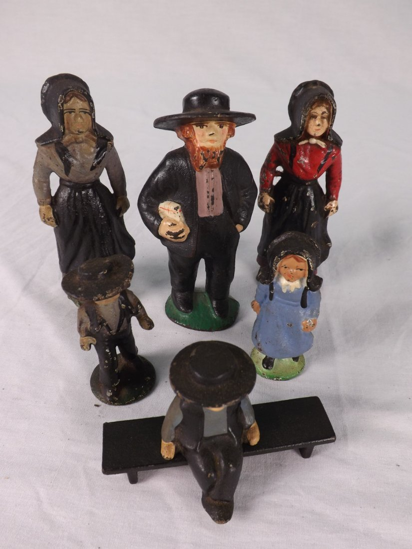 15: Cast Iron Figurine Collection