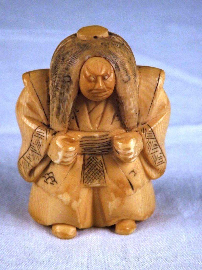 5: Ivory netsuke