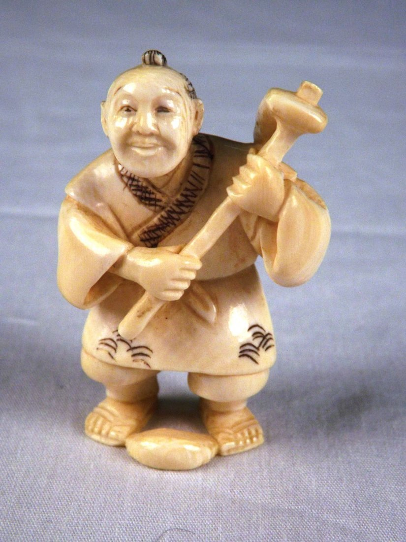 6: Ivory netsuke