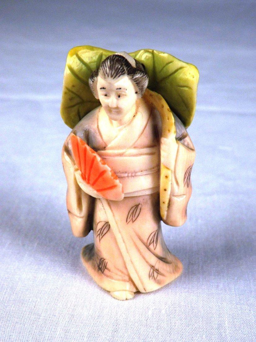 18: Ivory Netsuke