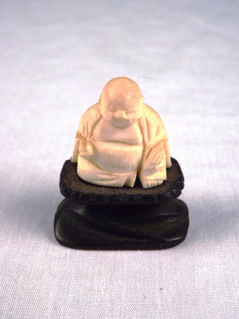 23: Ivory Mini Buddha