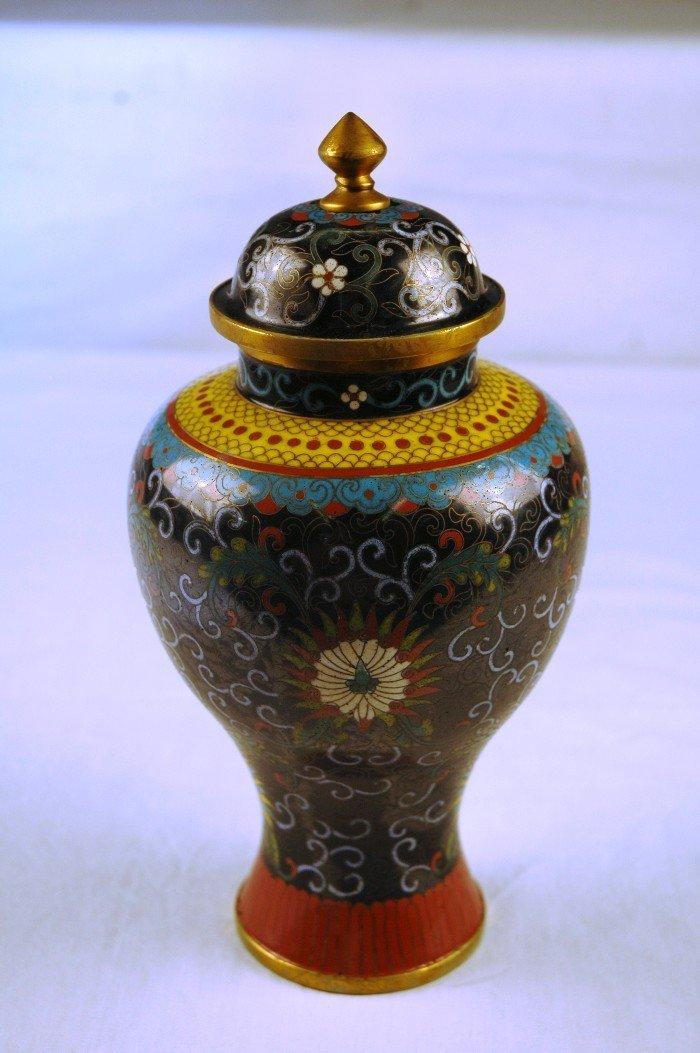 1: Cloisonné Ginger Jar