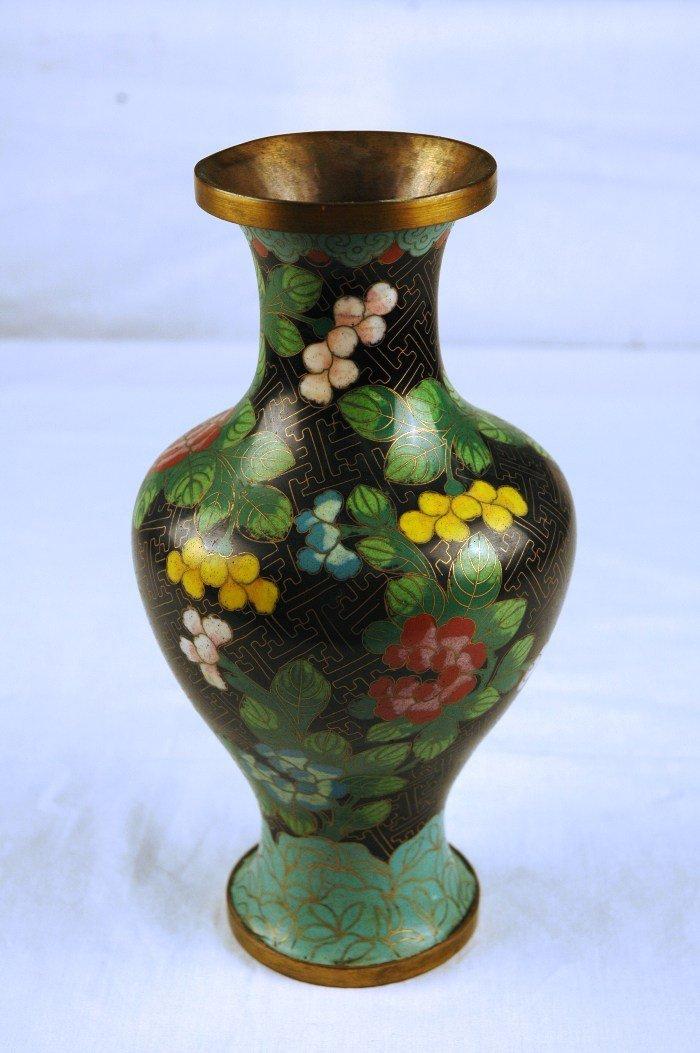 2: Cloisonne Vase