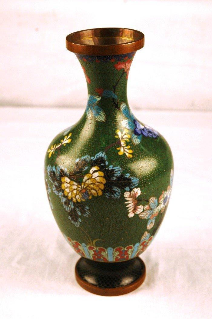 3: Cloisonne Vase