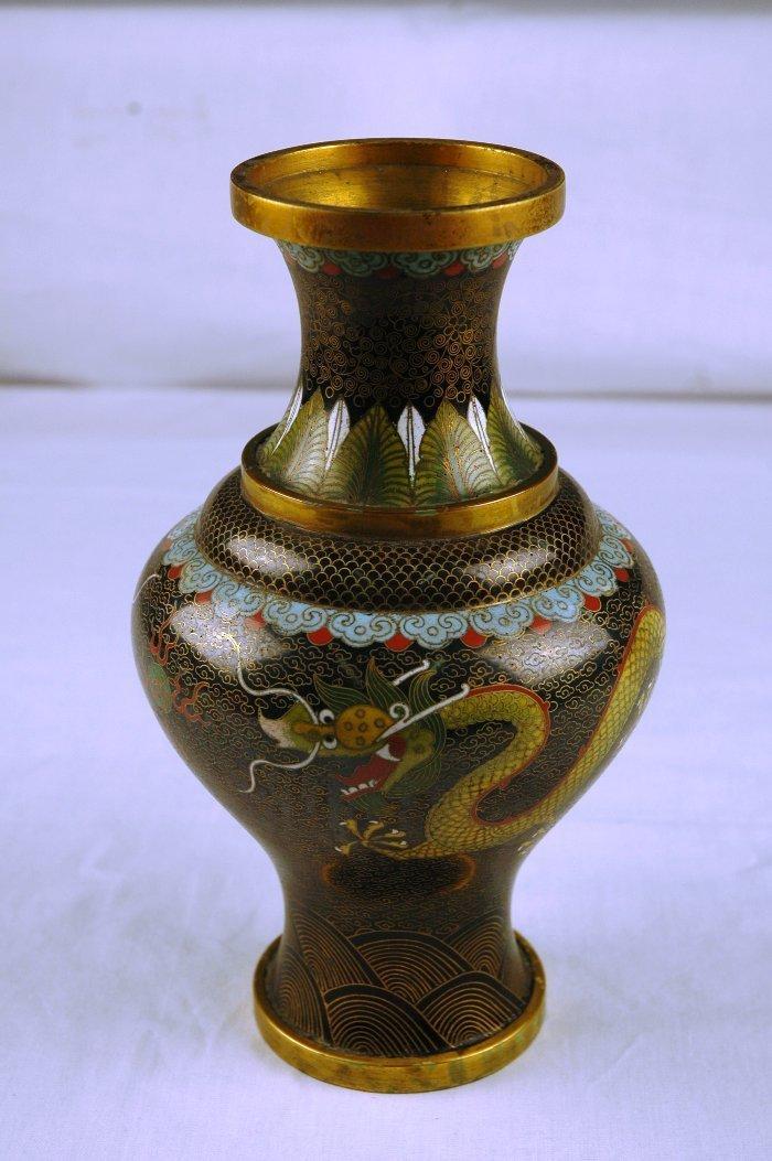 5: Chinese Cloisonne Vase