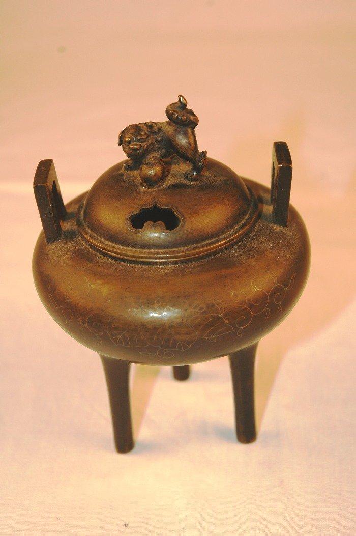 6: Japanese Bronze Censer