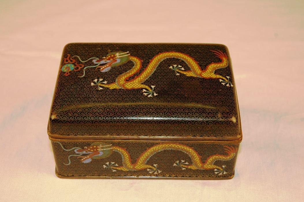 7: Cloisonne Box