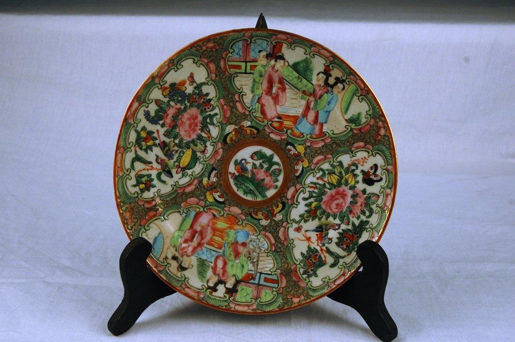11: Rose Medallion Plate