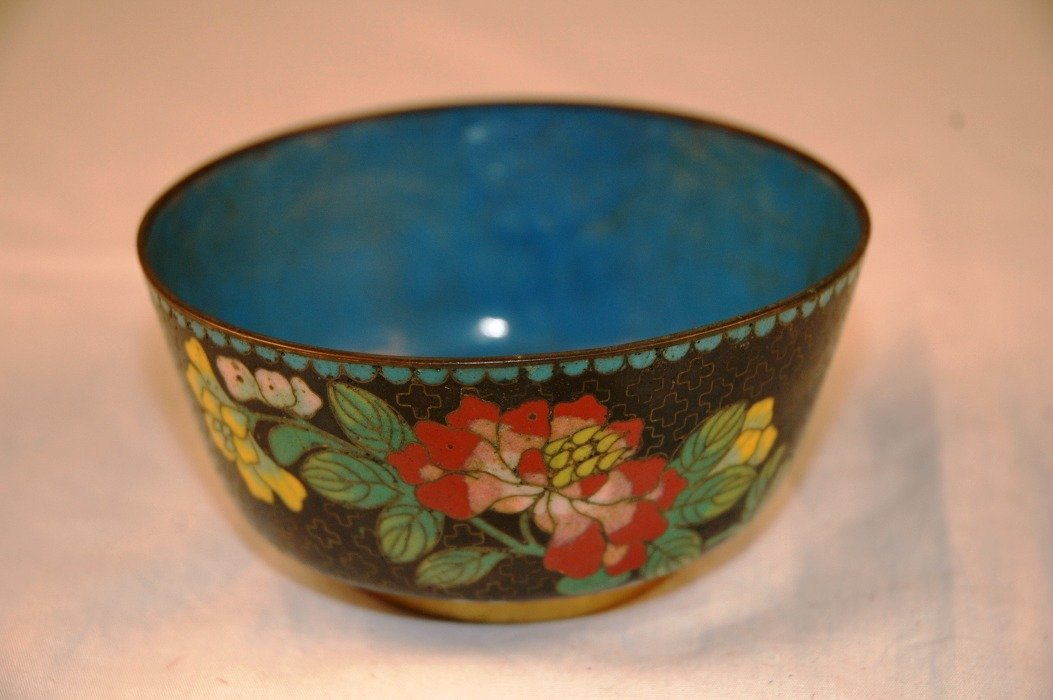16: Chinese Cloisonne Bowl