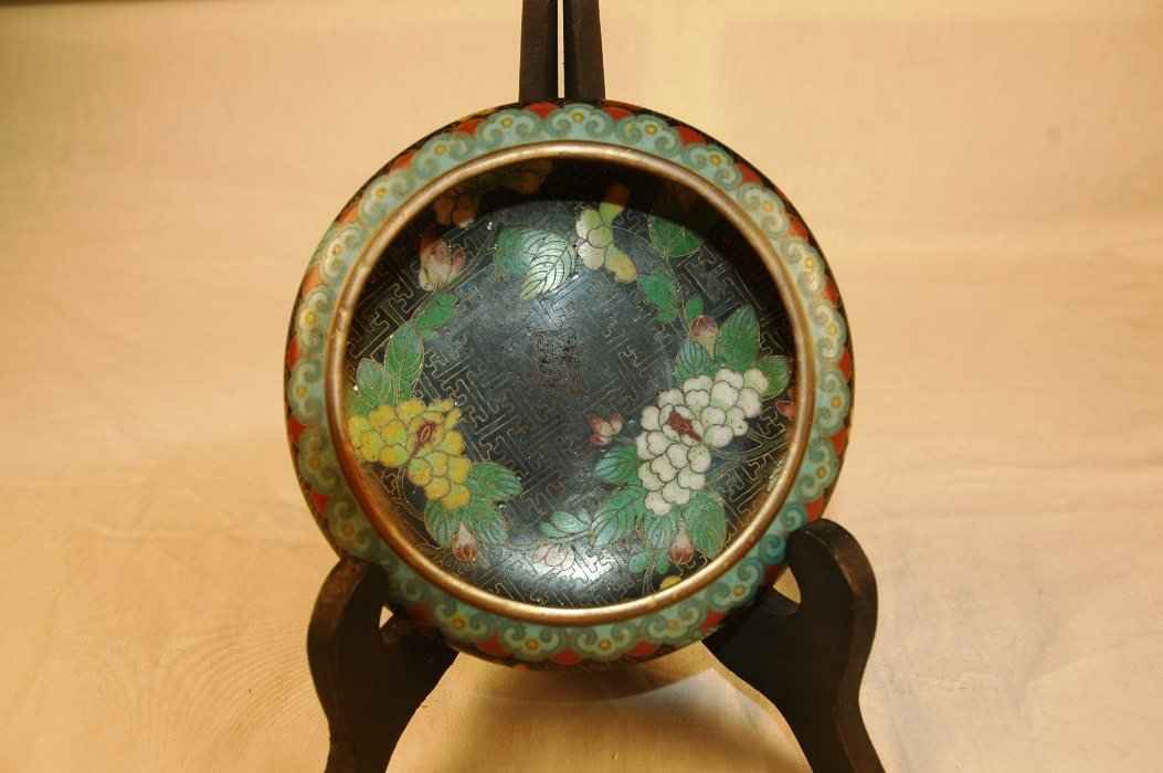 17: Chinese Cloisonne Bowl