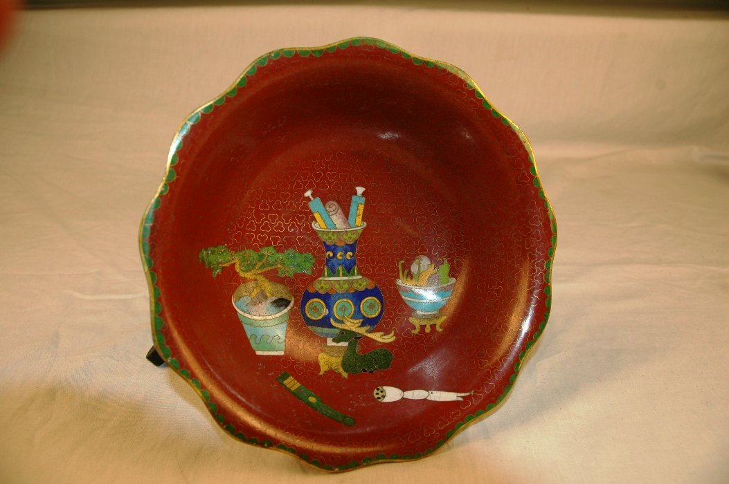 20: Chinese Cloisonne Bowl