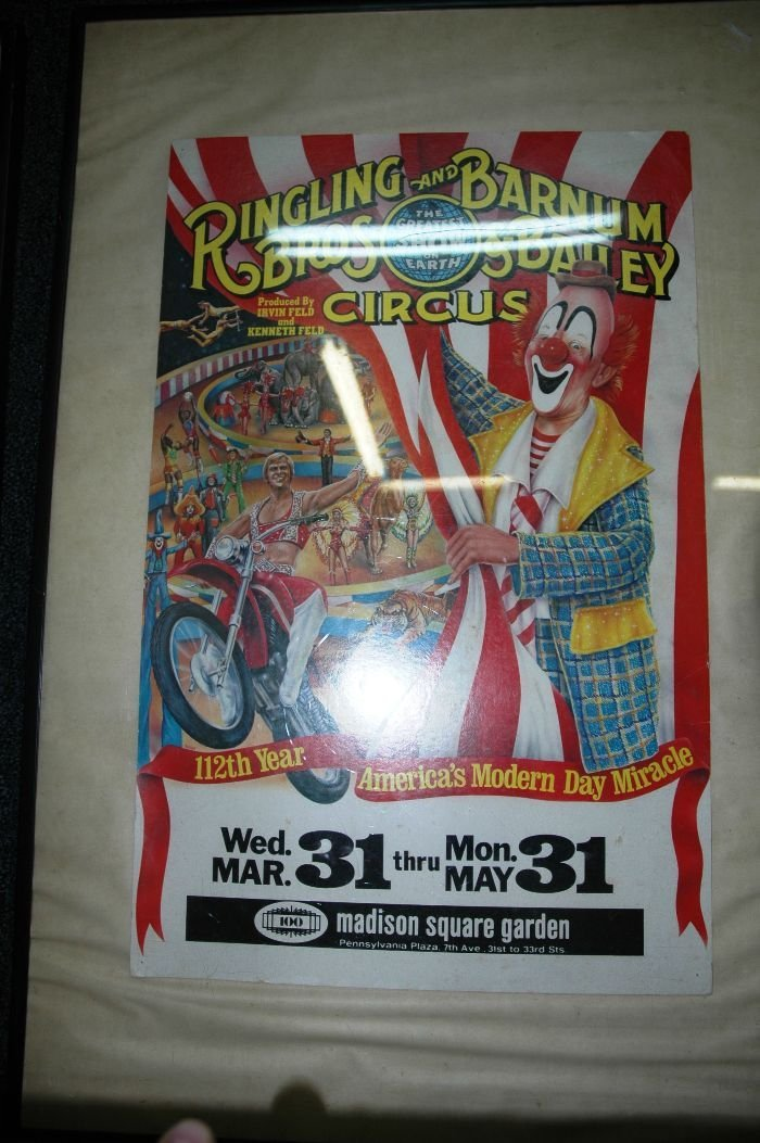7: Ringling Brothers Ad