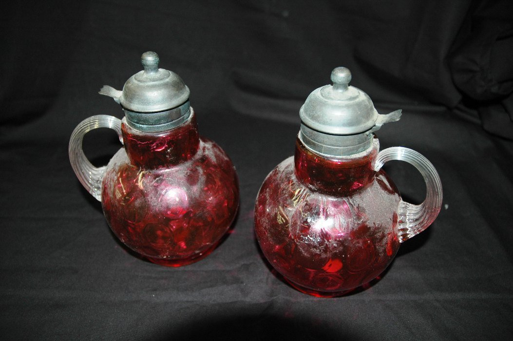 14: Syrup Pitcher, Pair