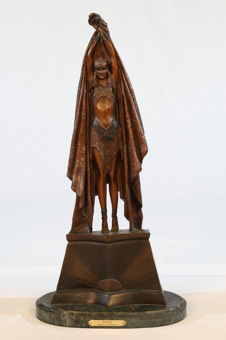Chiparus Bronze Statue