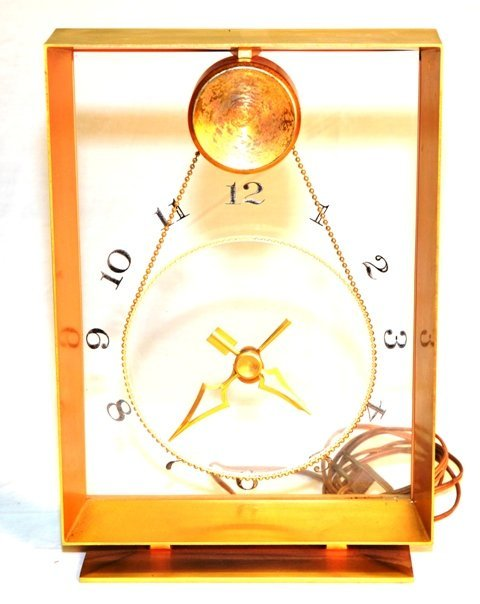 JEFFERSON TABLE TOP CLOCK WITH SUSPENDED MOVEMENT