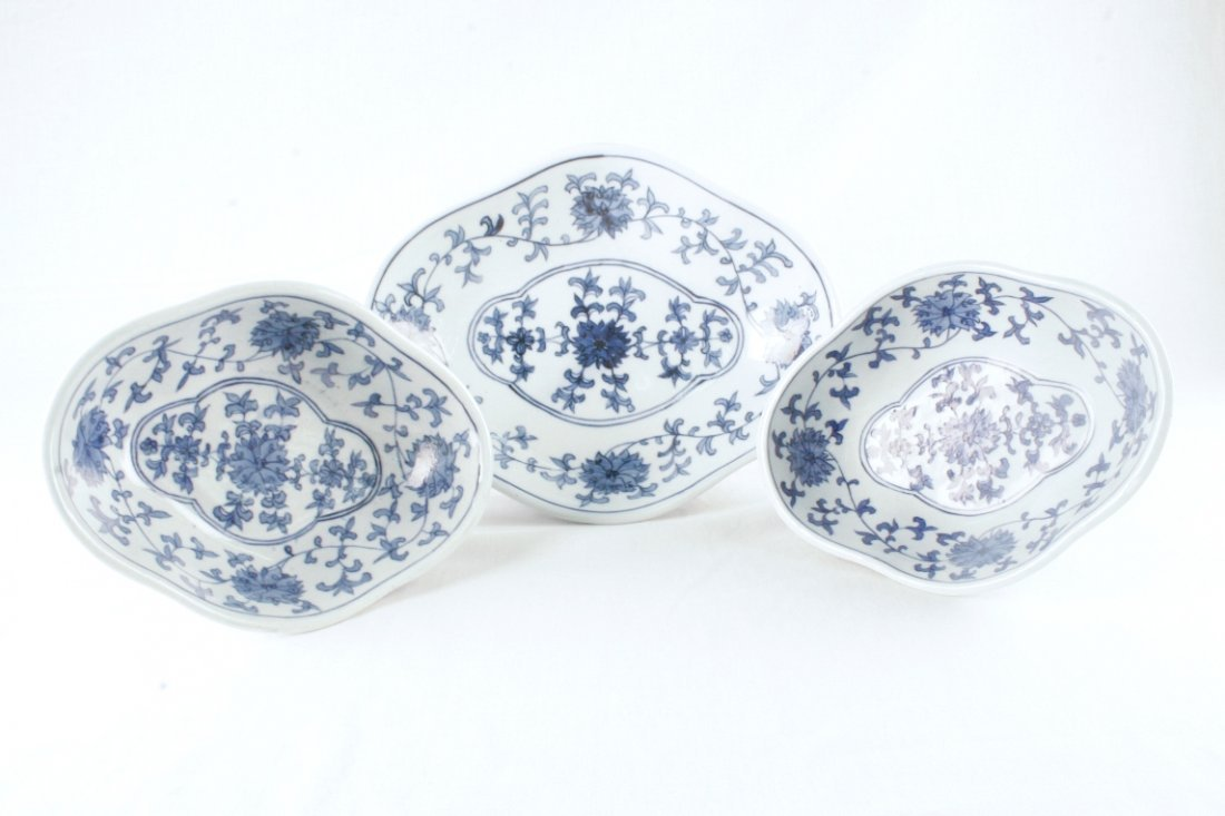 Blue & White Bowl Set
