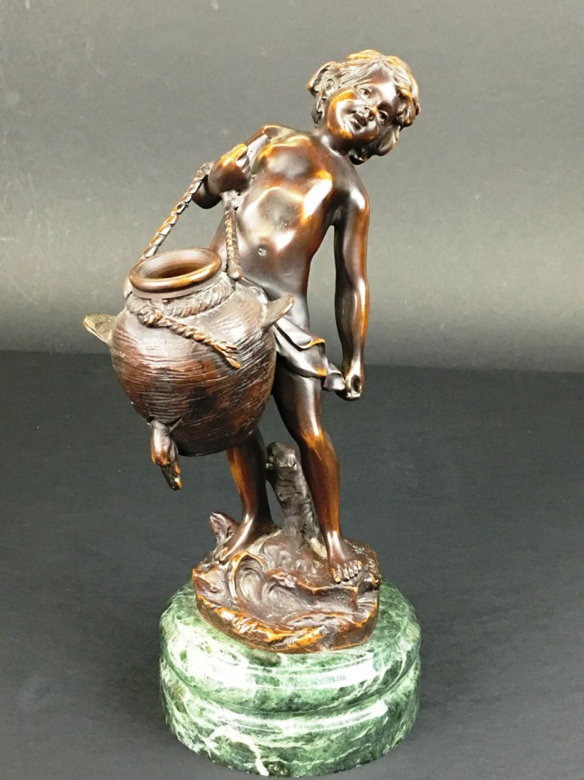 BRONZE SCULPTURE SIGNED MOREAU