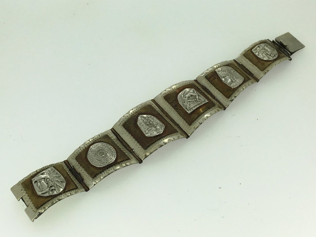 STERLING BRACELET-CHIEFS/EAGLES