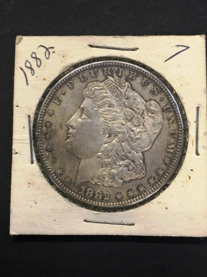 MORGAN SILVER DOLLAR 1882