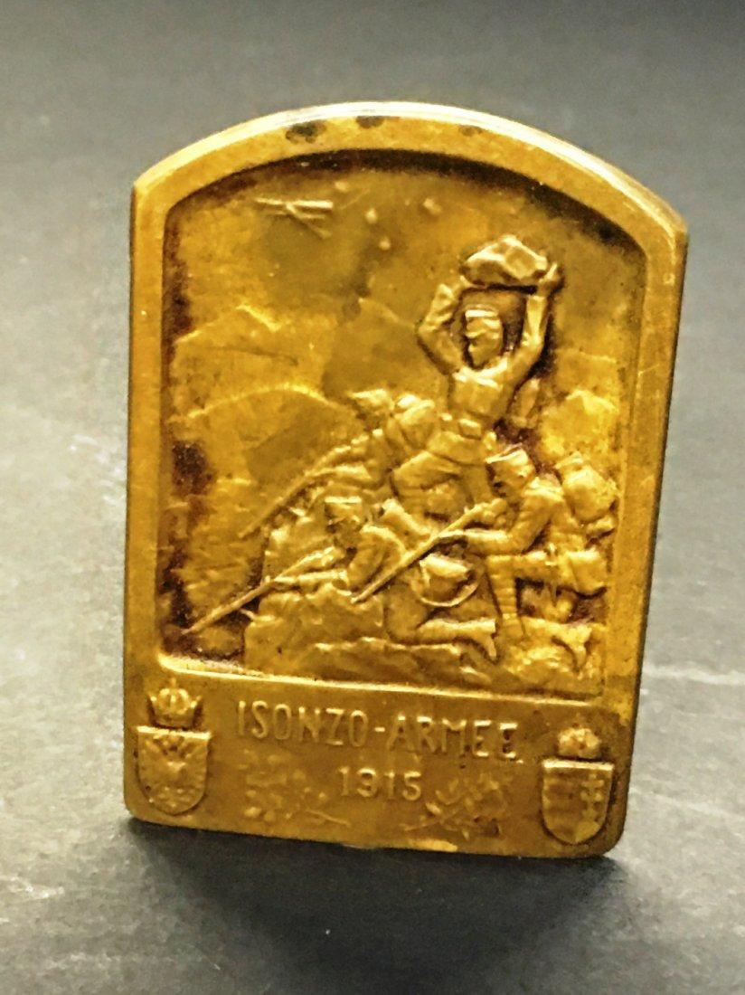 ISONZO ARMEE PIN 1915