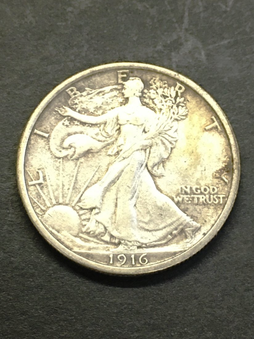 WALKING LIBERTY HALF DOLLAR 1916