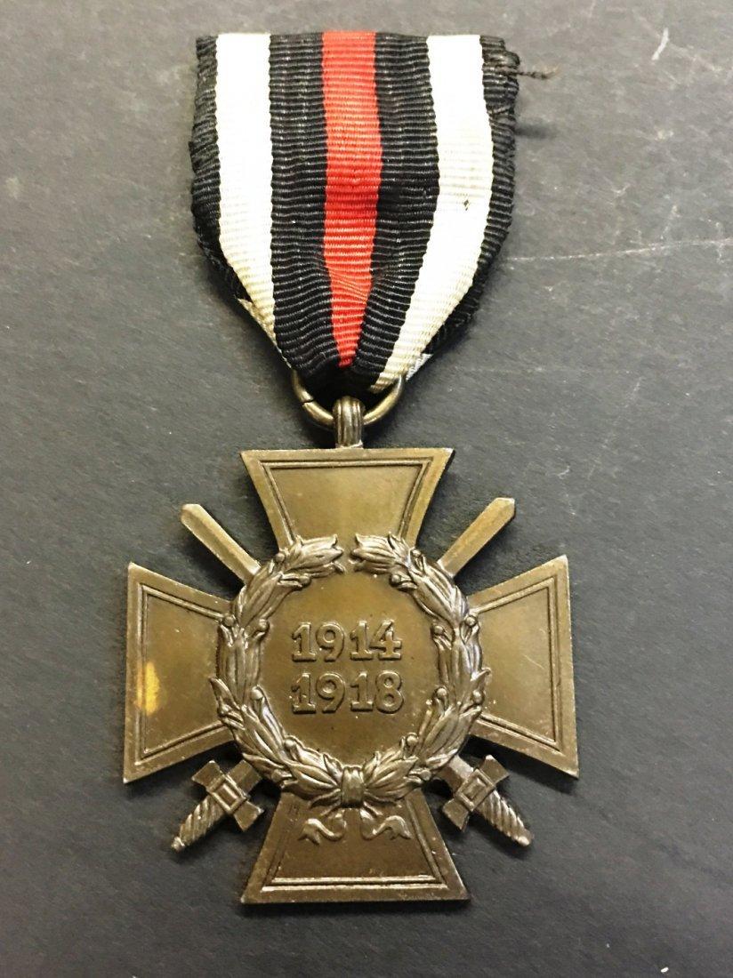 IRON CROSS RIBBON MEDAL 1914-1918