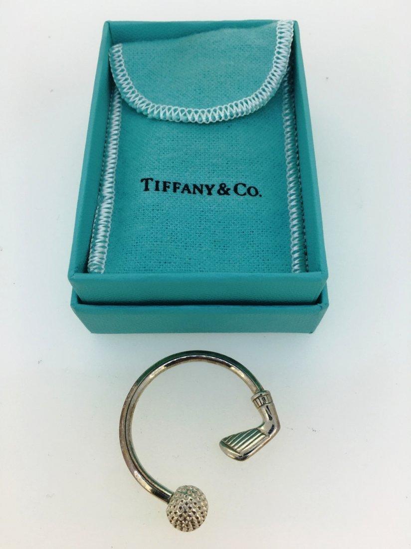 TIFFANY & CO GOLD KEY RING