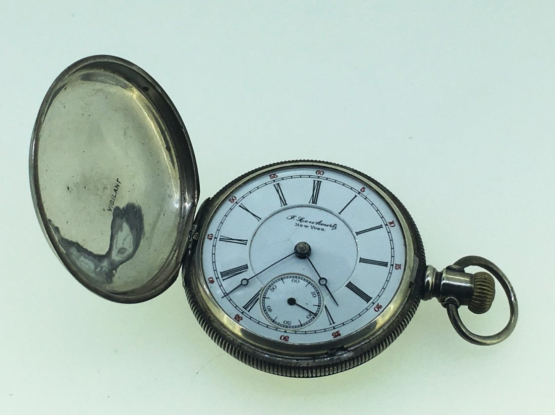 J. LEWKOWITZ OF NEW YORK POCKETWATCH