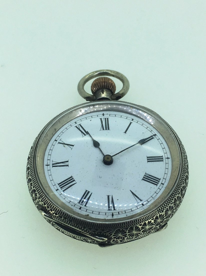 STERLING SILVER POCKETWATCH