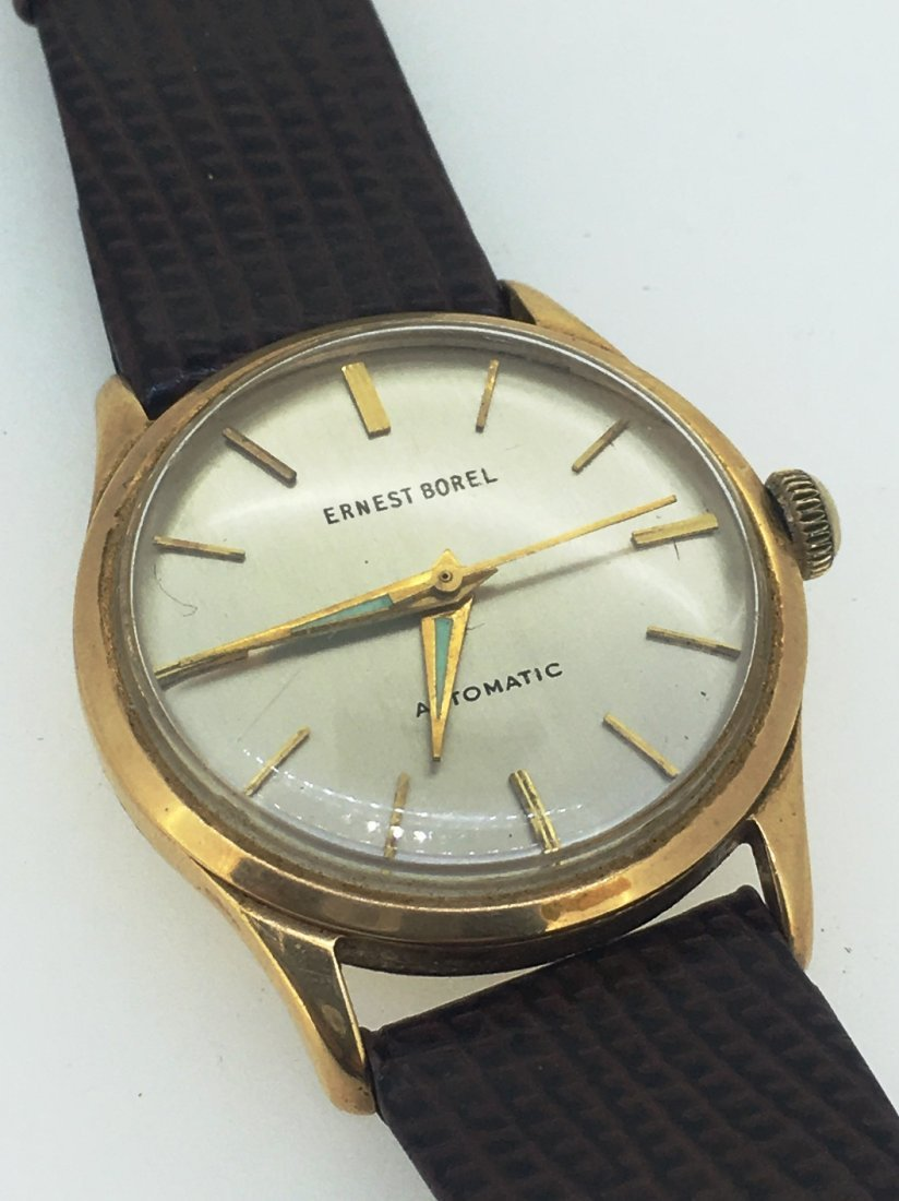 ERNEST BOREL 18K MENS WATCH - 2