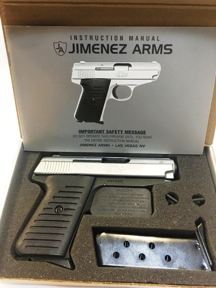 JIMENEZ ARMS MODEL J.A. 380 PISTOL
