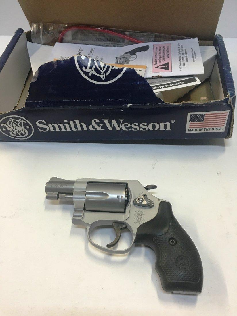 SMITH WESSON MODEL 637 38 SPECIAL REVOLVER